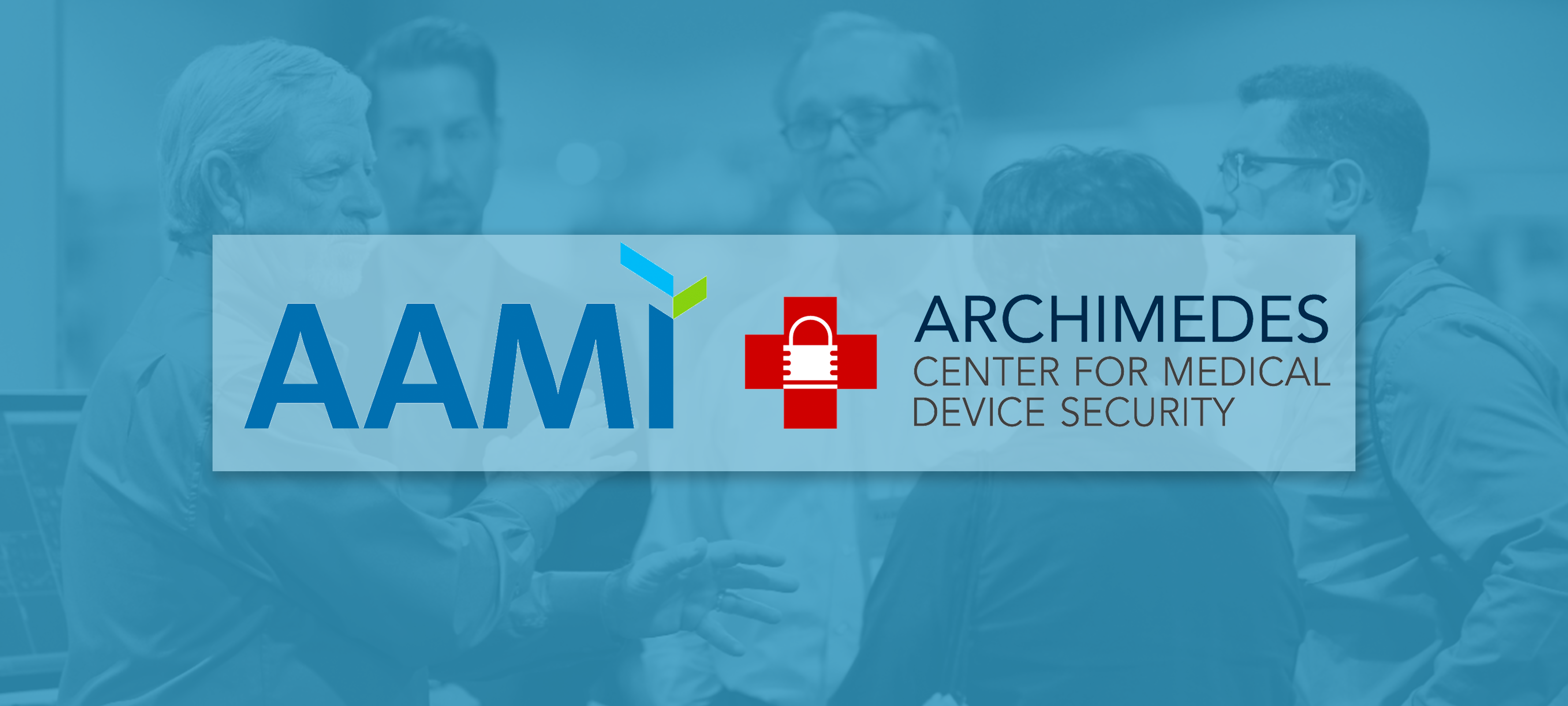 AAMI and Archimedes logos side-by-side