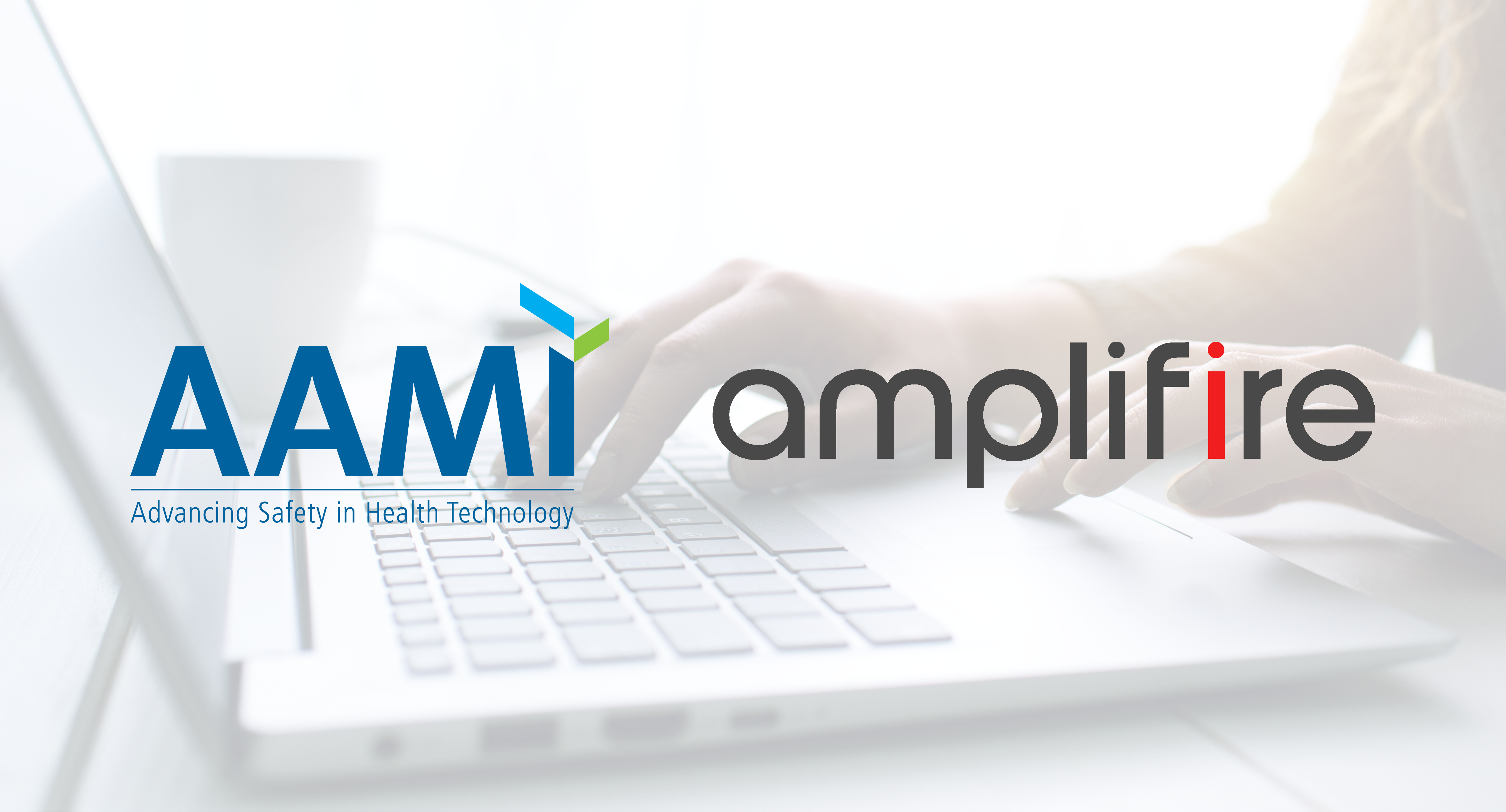 The Amplifire and AAMI logos side-by-side