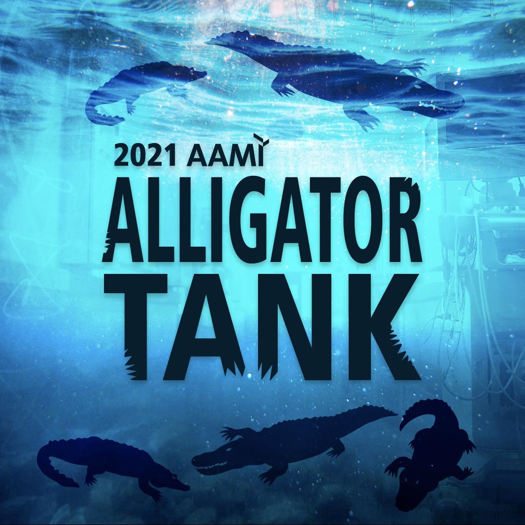 Logo for AAMI's 2021 Alligator Tank event