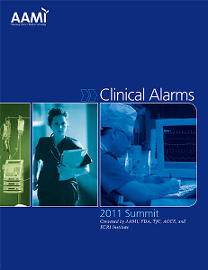 Clinical Alarms: 2011 Summit