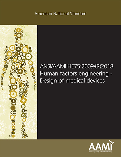 Cover Human factors engineering—Design of medical devices