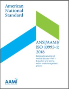 ANSI/AAMI/ISO 10993-1:2018